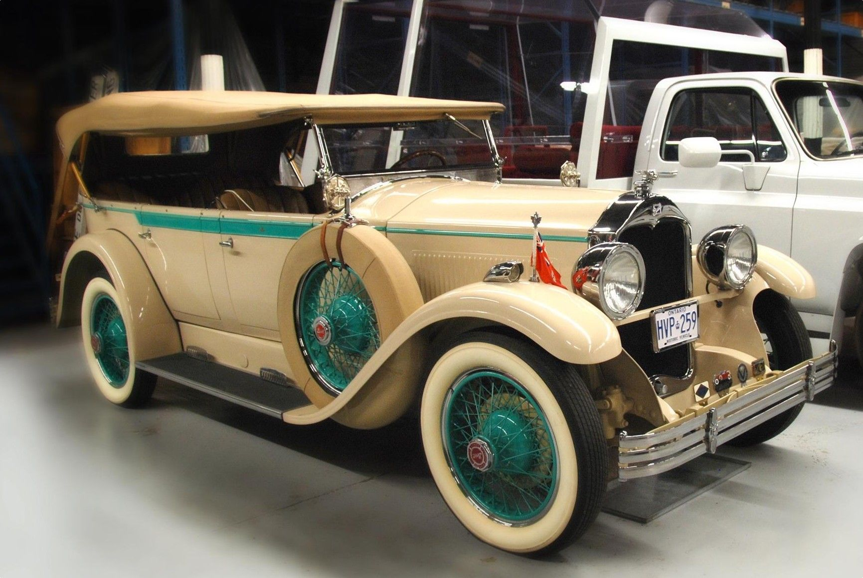 1927 Mclaughlin Buick Made For Royal Tour Lisa Phillips