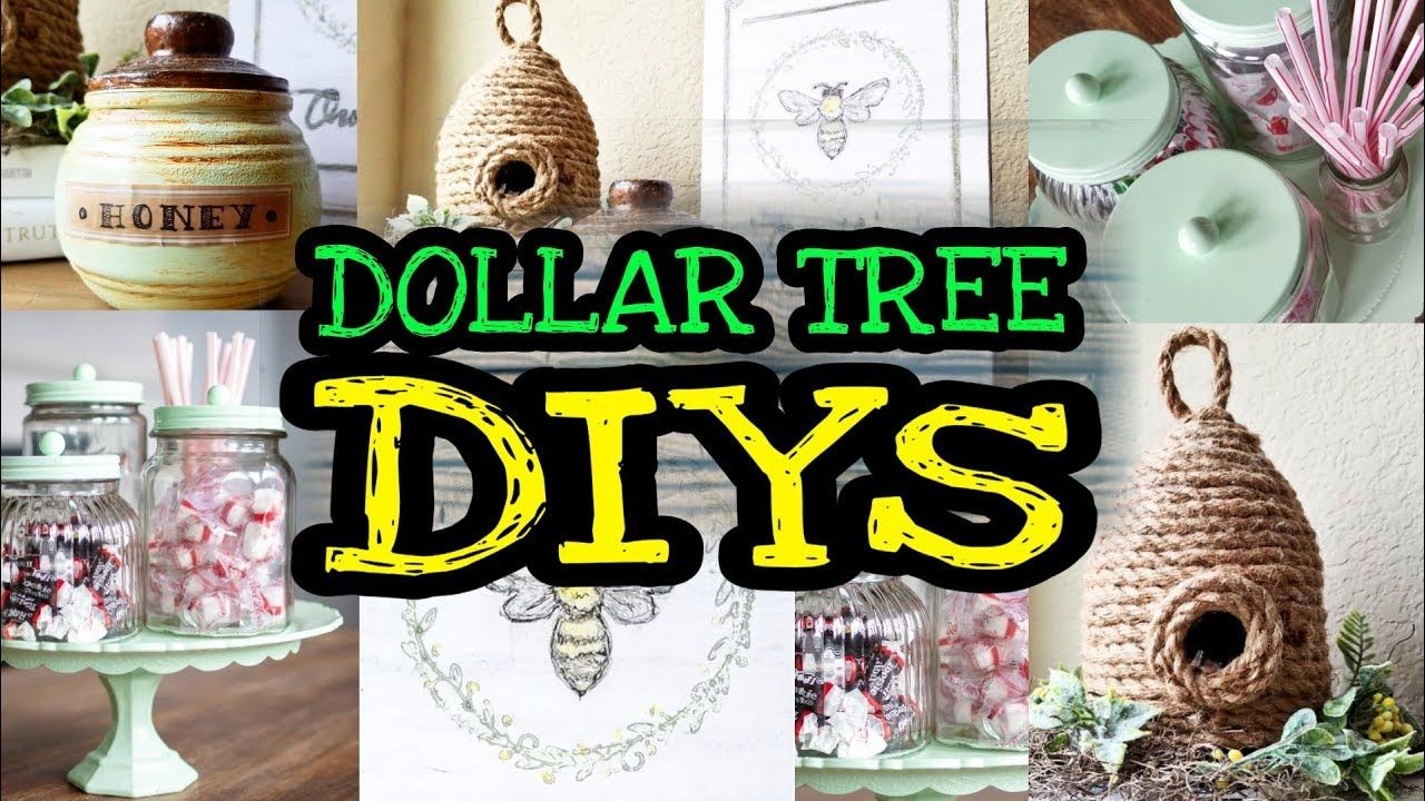 Dollar Tree DIY Room Decor / DIY Farmhouse Decor