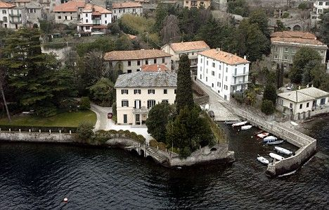 Loan It To Me George Celebrity Houses Lake Como Villas George Clooney