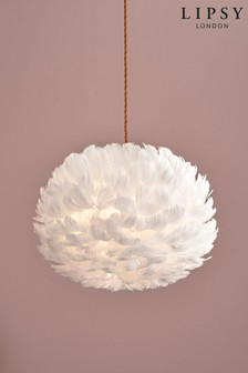Lipsy Feather Easy Fit Shade In 2020 Feather Light Shade Feather Lamp Pink Light Shades