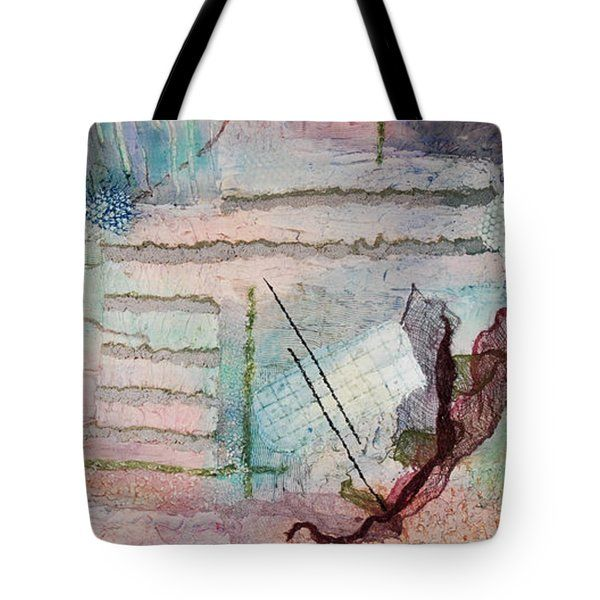 Gillian Pearce Tote Bags - Whispers of a Coral Sea Tote Bag by Gillian Pearce