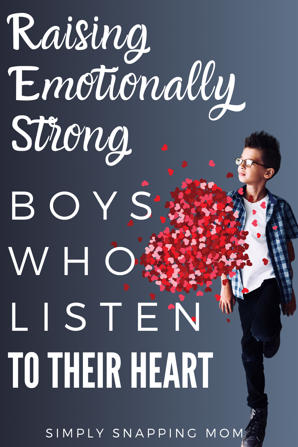 Photo of My goal is to raise my boys to be men. I want to raise kind, boys that are stron…