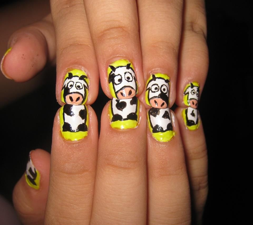 Animal Nail Art: 25+ Cute And Adorable Animal Nails
