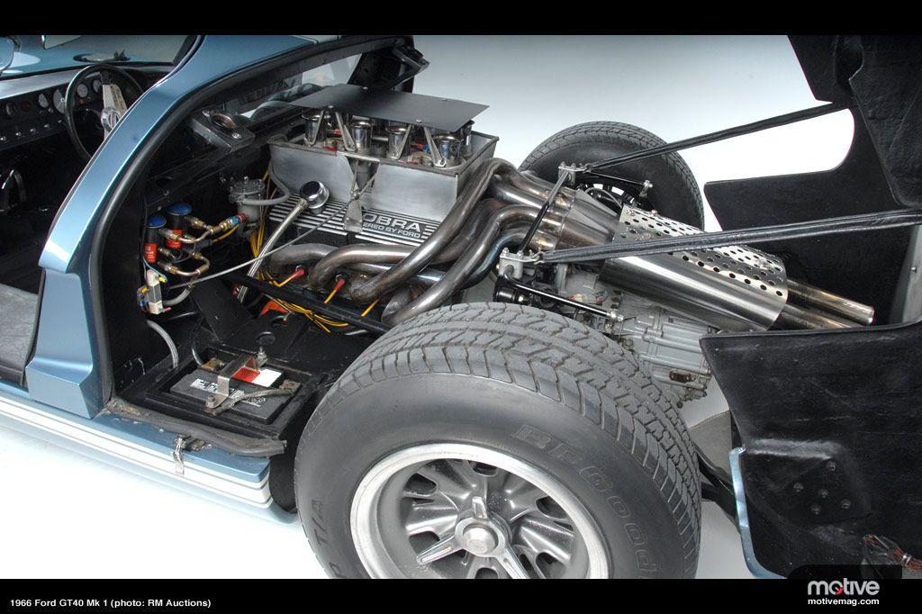 Ford Gt40 Mk I Engine Bay Gt40 Ford Gt40 Ford Gt