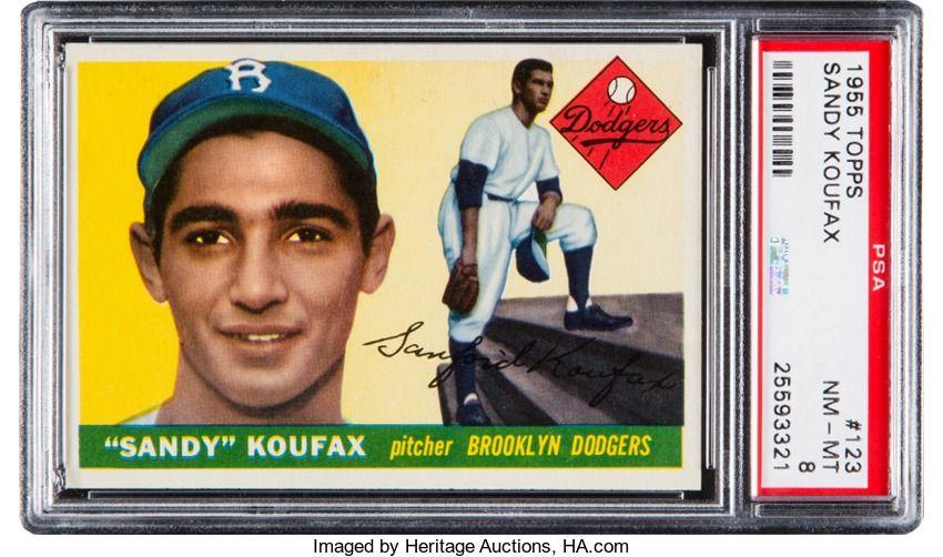 Baseball CardsSingles (19501959), 1955 Topps Sandy