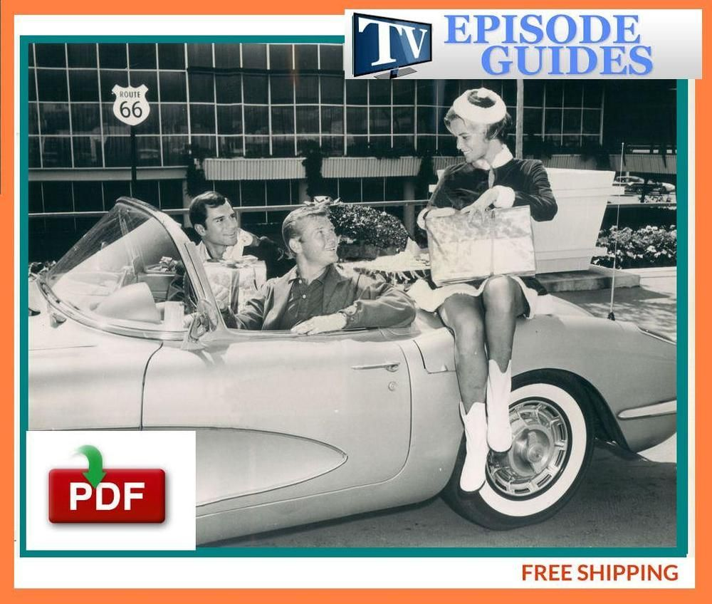 route 66 - old tv show - episode guide-pdf ebook free shipping | the