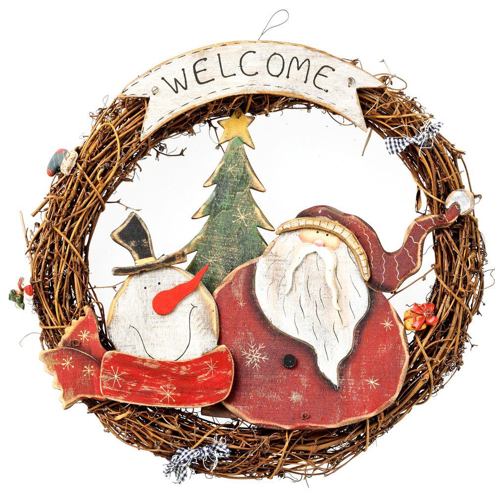 Corona navidad adornos el corte ingl s hogar for Adornos navidenos corte ingles
