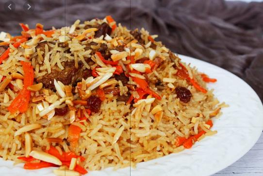 وصفات جديدة 2020 من المطبخ السعودي طريقة عمل الأرز البخاري باللحمة Food Rice Grains