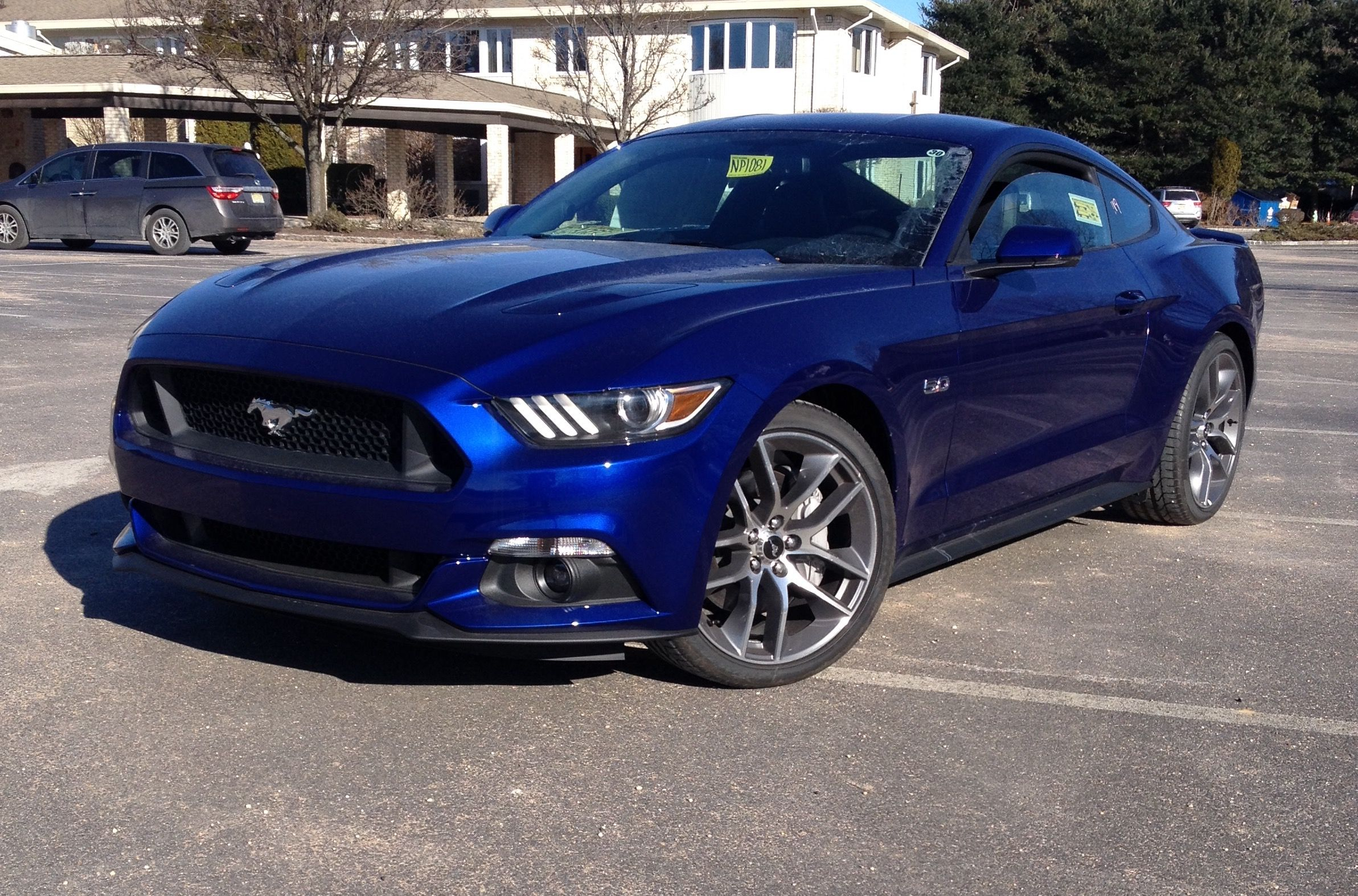 2015 Ford Mustang Gt Review Blue Mustang 2015 Ford Mustang