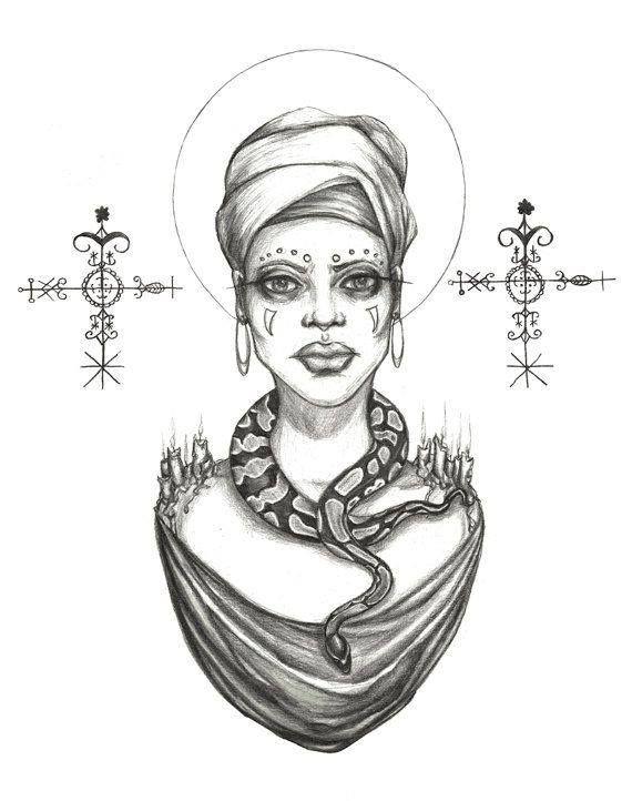 Haitian Vodou | fantasy, myths, & legends | Voodoo priestess, Voodoo