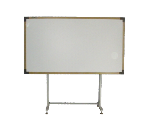 Golden Frame With Mobile Floor Stand Whiteboard Stand Mirror Table White Board
