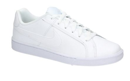 Nike COURT ROYALE witte lage sneakers | 25823 | SOOCO