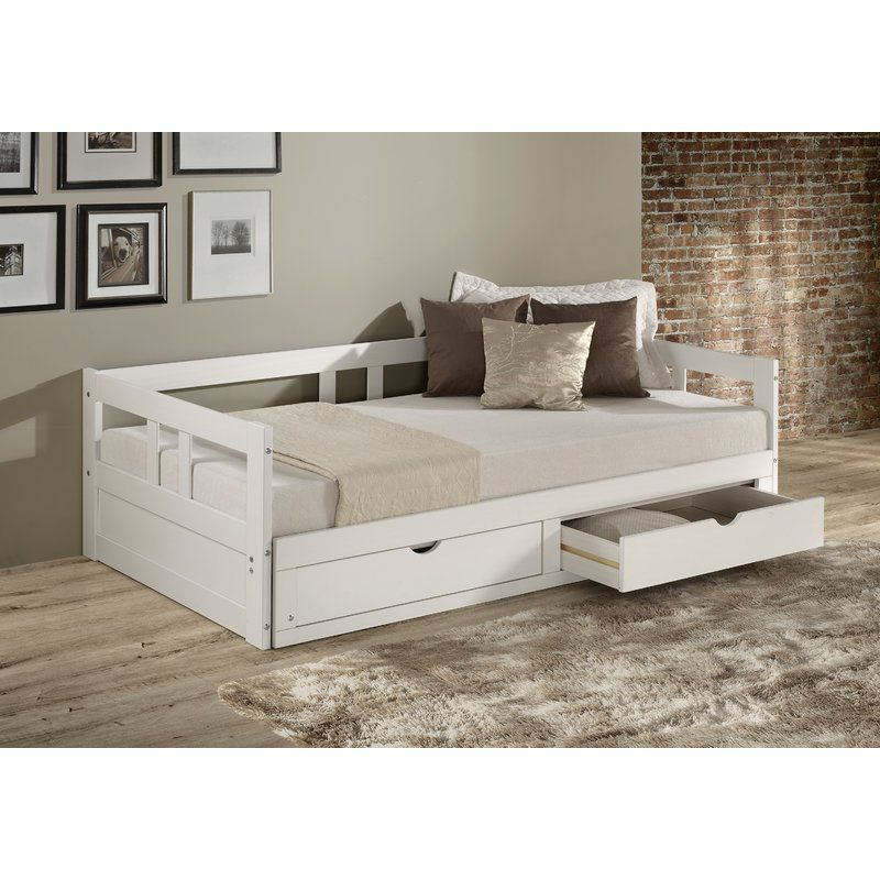 Bechtold Daybed With Trundle Daybed With Storage Daybed With Trundle Bed Frame With Storage