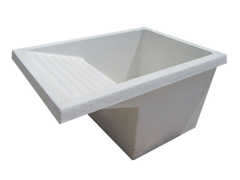 Lavadero de cemento blanco o gris la casa ideal for Modelos de lavaderos de bano