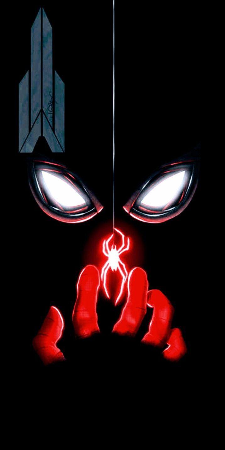 Dark Spiderman Iphone Wallpaper Marvel Artwork Marvel Wallpaper Marvel Art