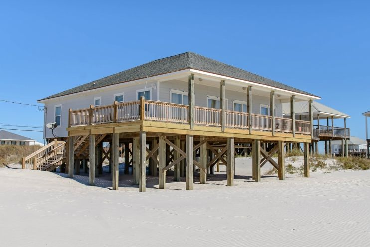 Sea Y All Dauphin Island Beachfront Vacation Rental On The Gulf Of Mexico Dauphin Island Vacation Rentals By Owner Gulf Coast Vacations