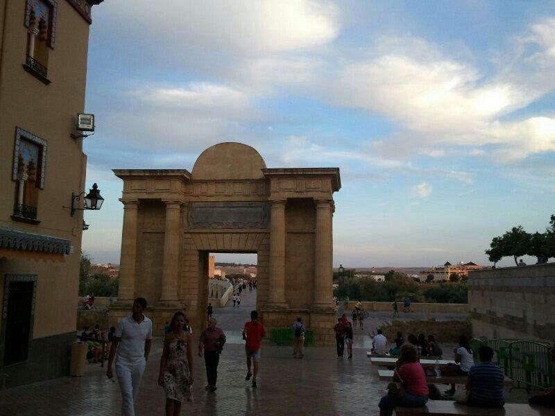 Puerta del puente. Córdoba. España