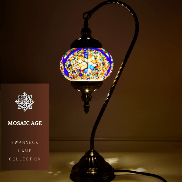 Decorate Your Home with Stylish Mosaic Lamps The right ambiance in your home nurtures and supports you. Here is a new idea to improve your home's ambiance. Everything you put in a room contributes more or less to the ambiance inside, but lighting is an often underestimated part of the homes. Well, this Mosaic Lamp is exactly what you need in your home. With this handcrafted lamp, it is so easy to change the mood in your home. This lamp adds elegance and depth to your scheme, even when it's switc