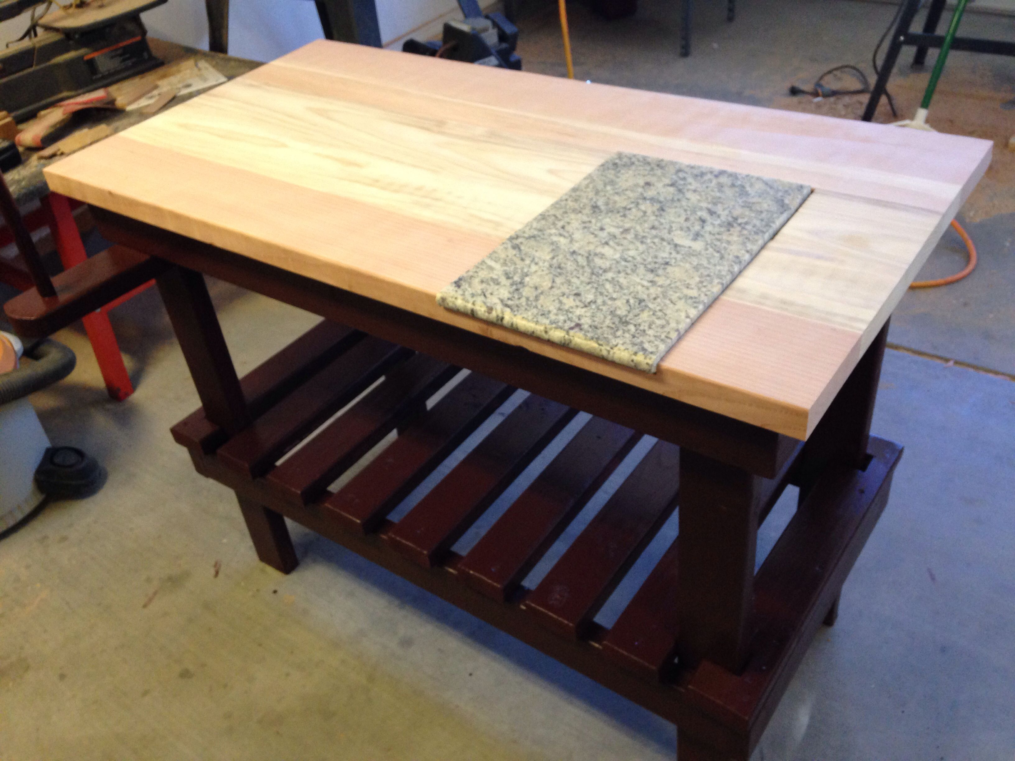 Outdoor BBQ prep table Projects I have pleted