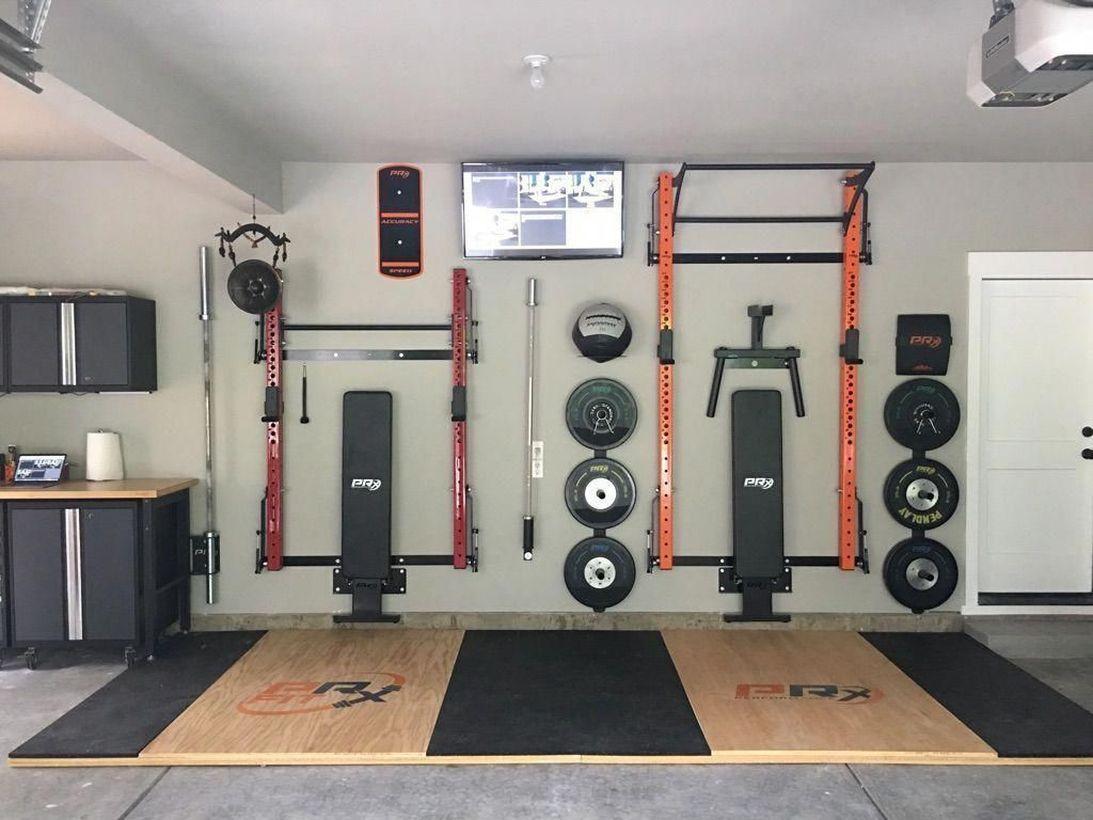 54 Adorable Home Gym Ideas To Get Healthy Home gym