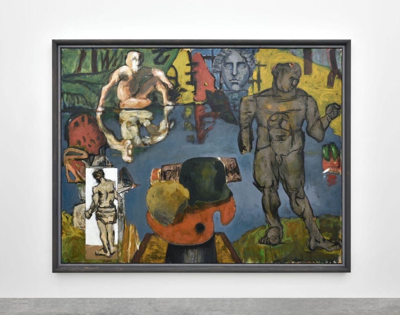 Markus Lüpertz Almine Rech Gallery Daily art, Art
