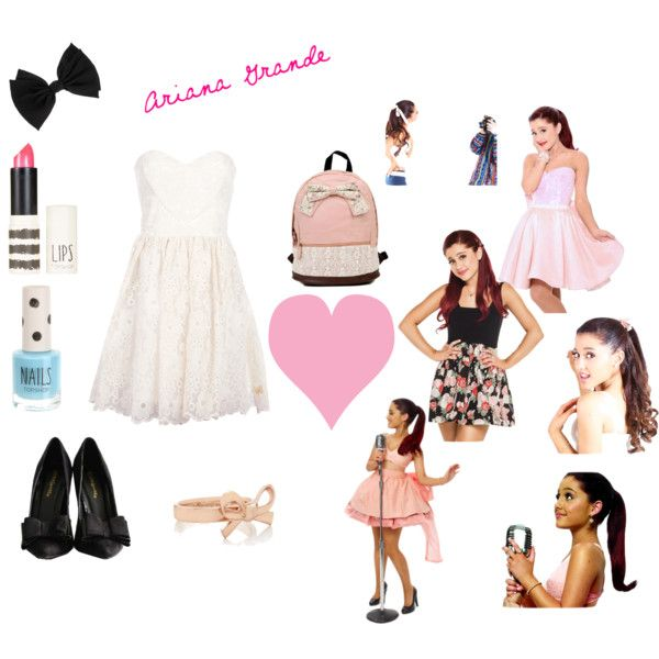 """""""Ariana Grande (Style)"""" by selbeauty on Polyvore"""