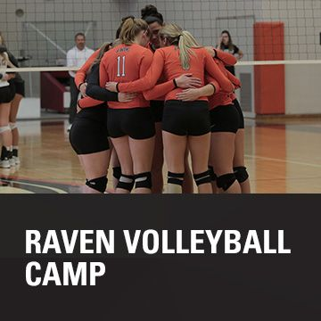 Learn About Sports At Au Register For The Raven Volleyball Camp Volleyball Camp Anderson University Summer Camp
