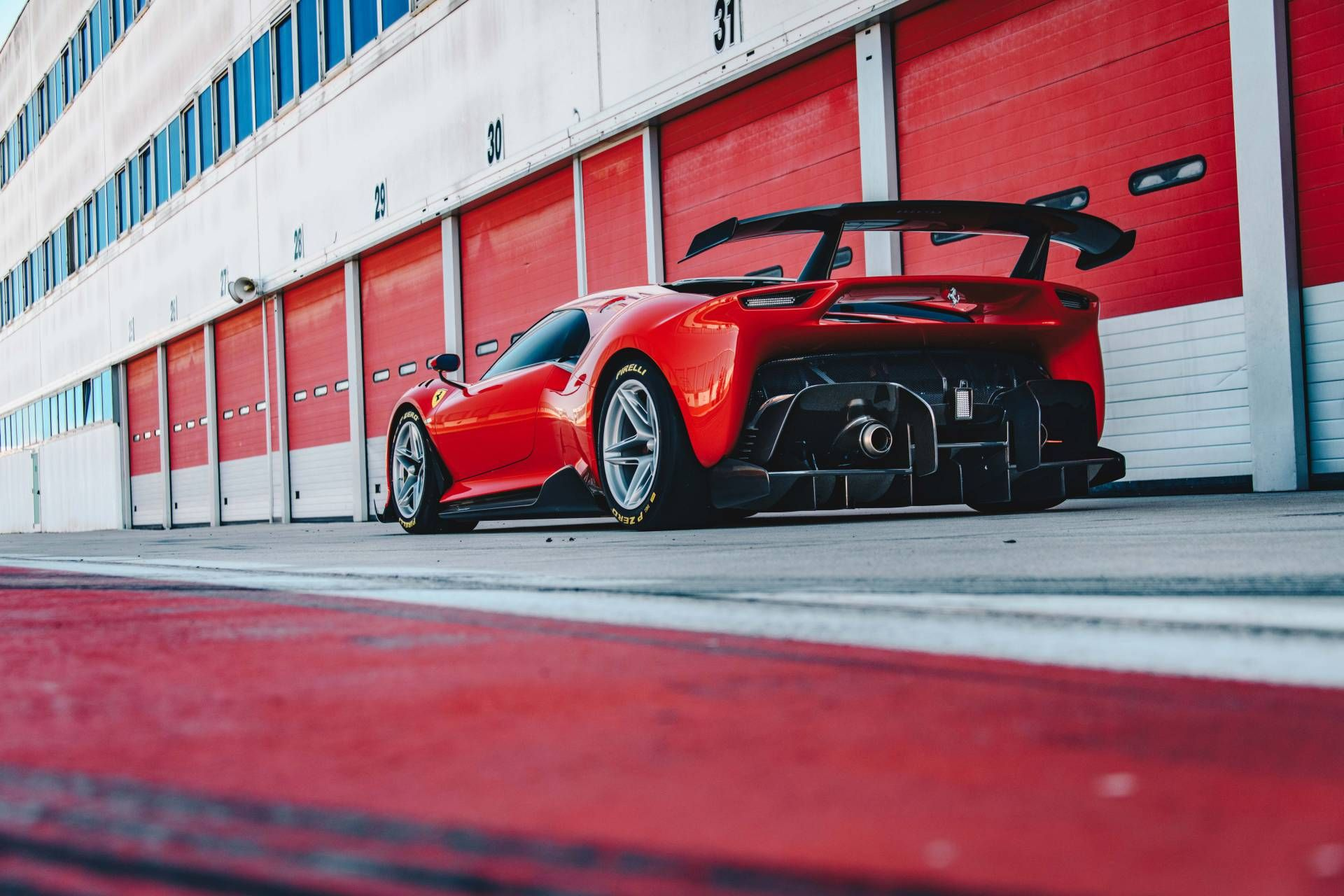 World S First And Only Ferrari P80 C Revealed Is A Track Only Supercar Techeblog New Ferrari Ferrari Ferrari Racing