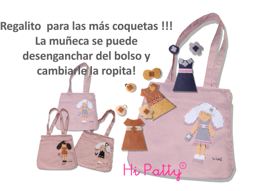 Hi Patty - Bolsos y muñecas personalizables - Tienda online - Enfants et Maison
