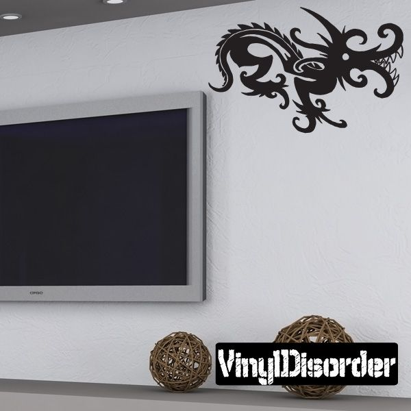 Dragon Wall Decal - Vinyl Decal - Car Decal - DC361