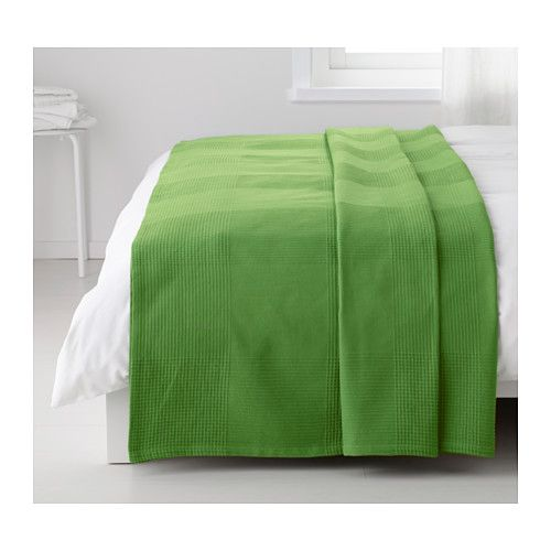indira bedspread green 250x250 cm pinterest lit ikea couvre lit et couvre. Black Bedroom Furniture Sets. Home Design Ideas