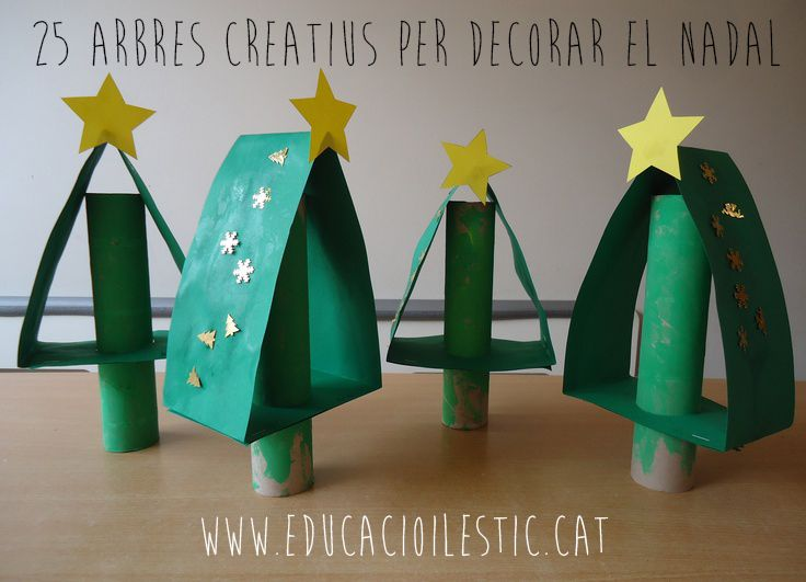 25 arbres creatius per decorar el Nadal