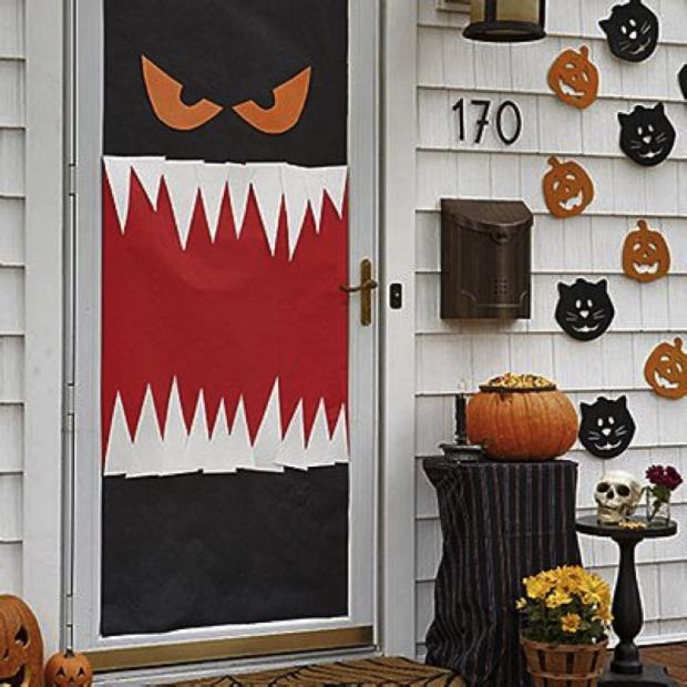 Easy DIY Halloween Decorations For Your Dorm Room Diy - Cute scary halloween decoration ideas creative halloween decorations