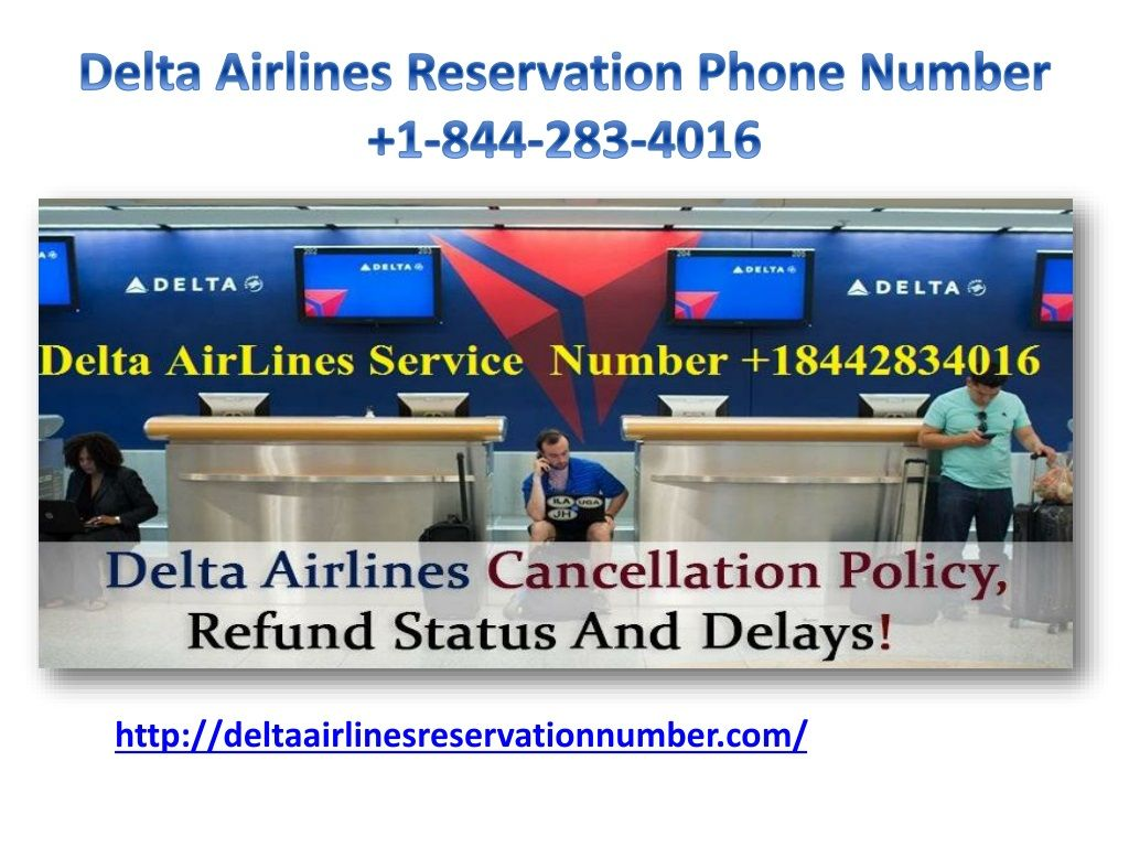 Delta Airlines Reservations Phone Number 1(844) 2834016