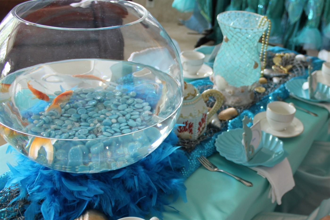 Under The Sea Sea Fantasy Little Mermaid Party