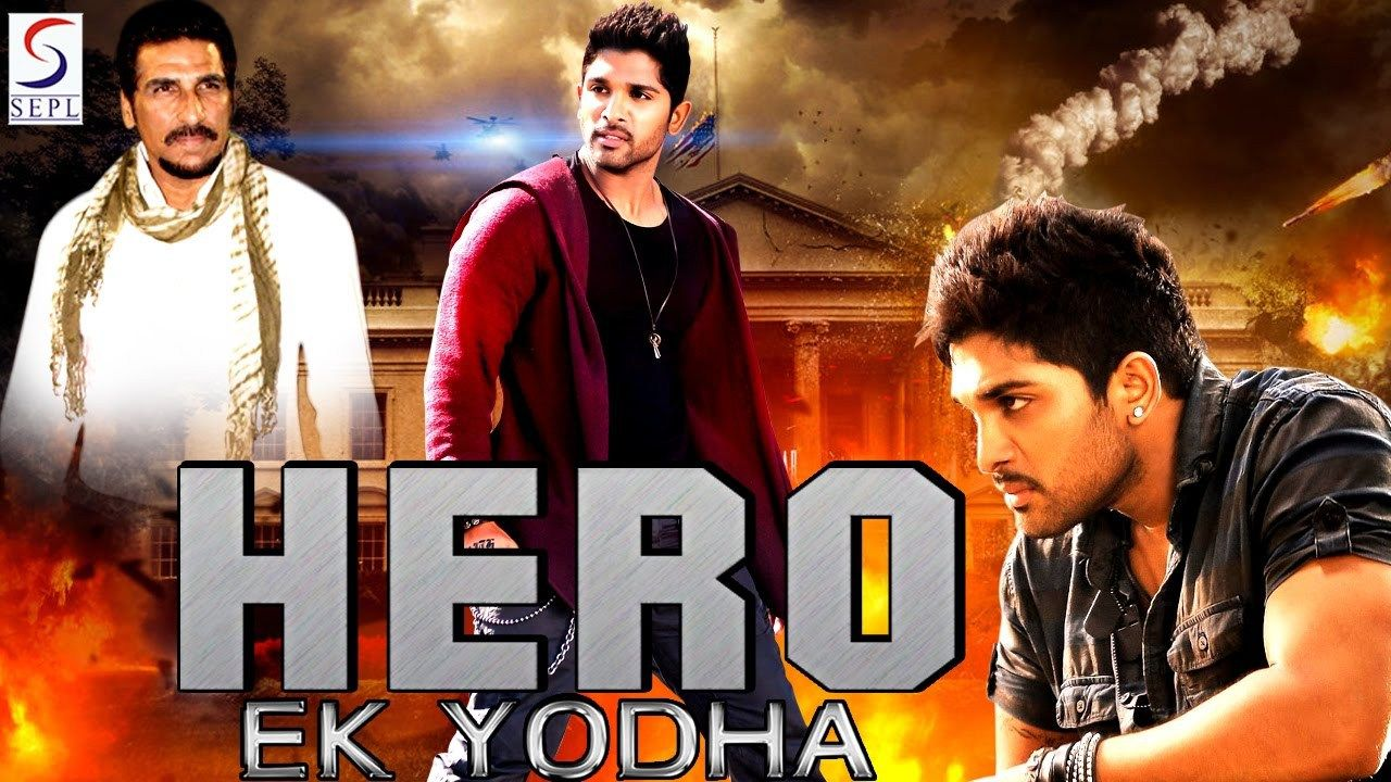 free hero ek yodha - south indian super dubbed action film - latest