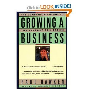 Growing a Business by Paul Hawken  this book may be old, but the