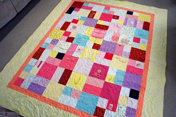 baby and childhood memory quilts -- I want to do this with t ... : making a memory quilt - Adamdwight.com