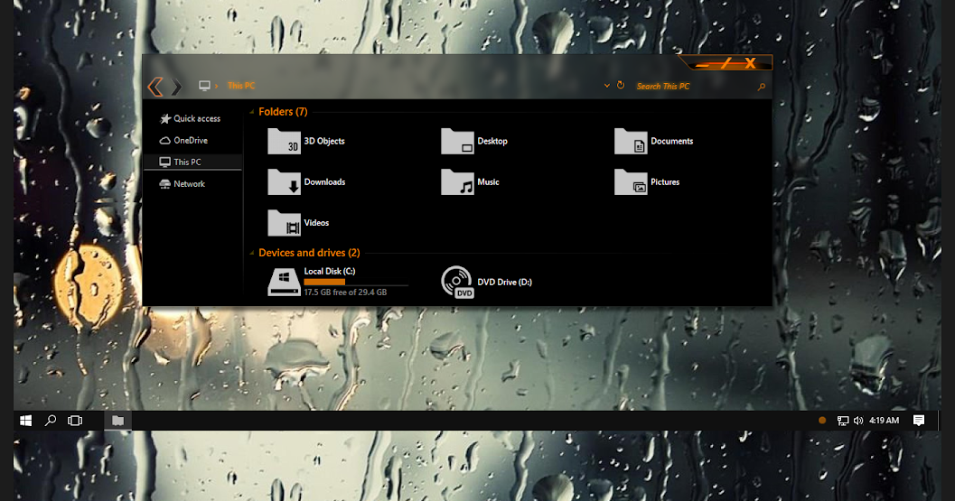 Theme and Icon For Windows 10, 7, 8, Skin pack, Theme pack