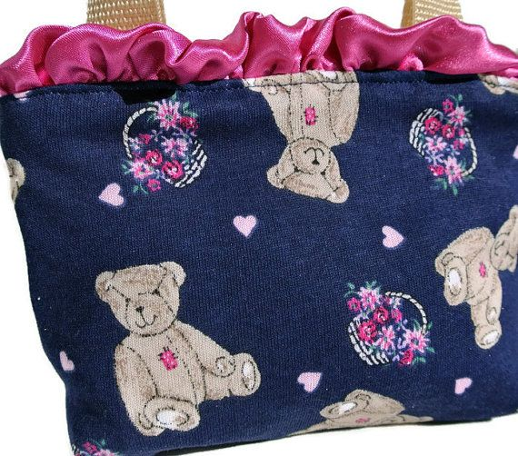 Child's Pouch  Girl's Present  Valentine Purse  Gift for by ClassA