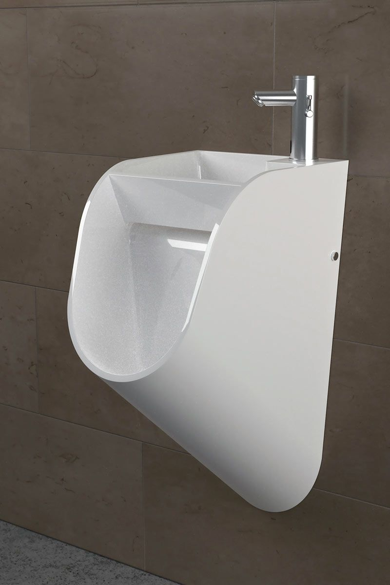 Sink & Urinal in One by STAND | White sink, Sinks and Modern