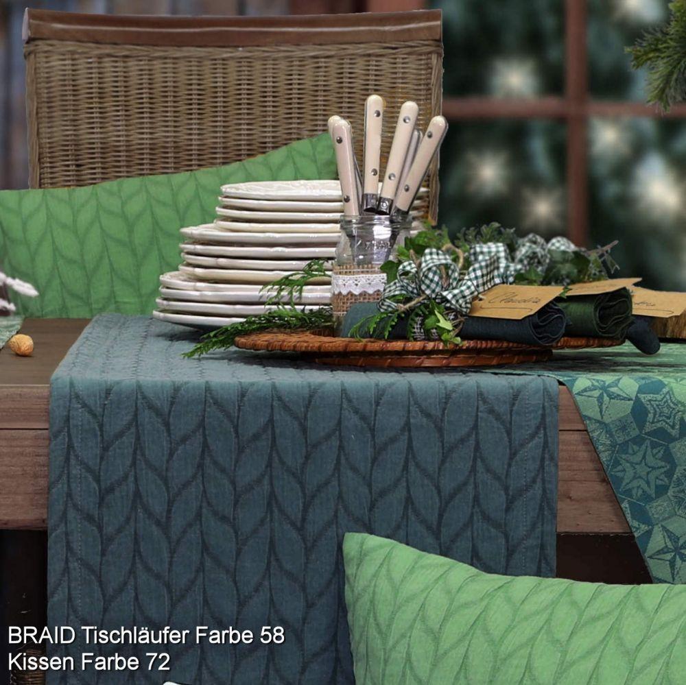 Tischäufer und Kissen in Herbstfarben von sander table and ...
