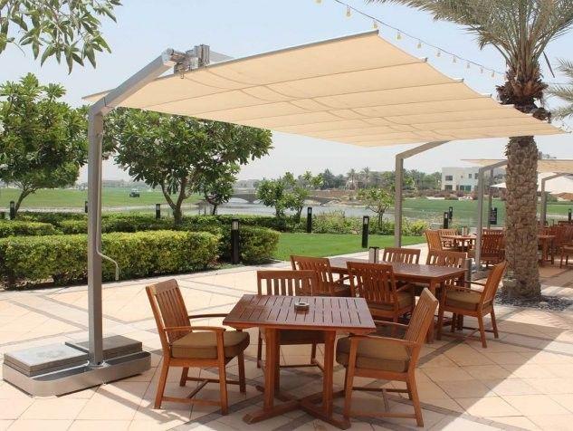 Rectangular Patio Umbrella | Furniture Ideas | Pinterest | Patio ...