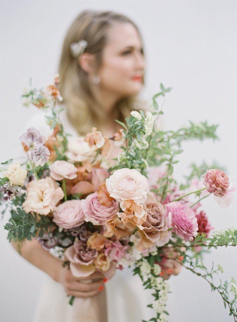 Nicole Gus Palm Springs Wedding Bouquets Bride Palm Springs Wedding Wedding Petals