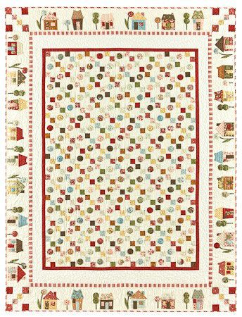 Yoyoville Quilt Kit By Bunny Hill Designs Applique Quilt