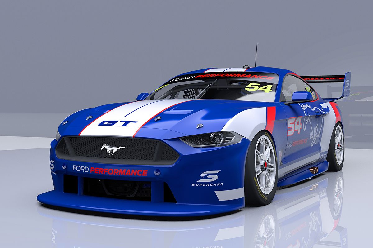 Work Underway On First Mustang Supercar Supercars Ford Mustang