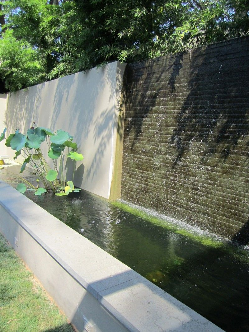 Retaining Walls Add Style To A Home Water Feature Wall Water Walls Water Features In The Garden