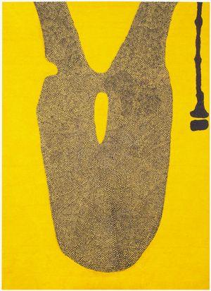 Hannu Väisänen: March Yellow 2008 - Oil on canvas