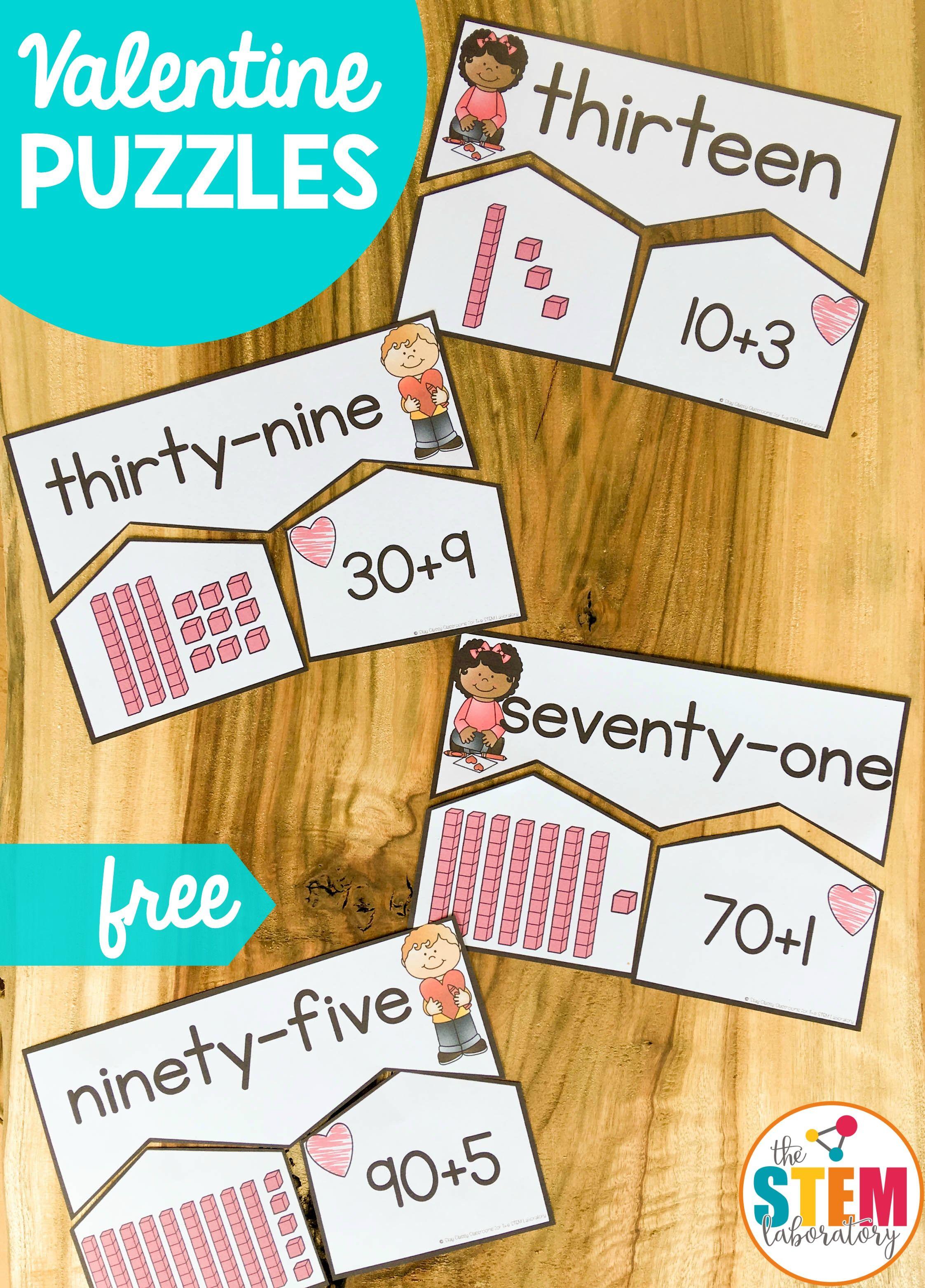 Valentine S Number Puzzles