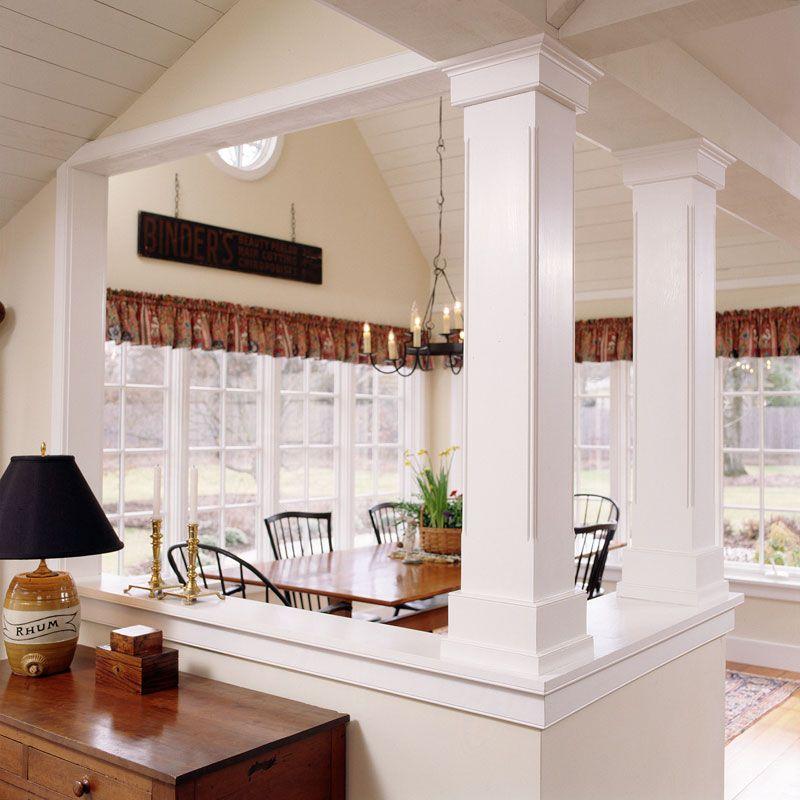 Wonderful Decorative Square Columns #7: Decorative Square Columns Near Interior Doorways - Google Search